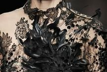 Couture and Runway - Back to Black / by Allison Rodriguez