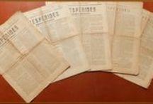 Prensa Antigua Comarcal (III). HESPÉRIDES: semanario independiente / Imágenes de algunos ejemplares del semanario HESPÉRIDES publicado en 1898 en La Orotava depositados en la Hemeroteca de la Biblioteca Pública Municipal de La Orotava.