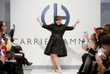 Jamie Brewer for NYFW / The latest controversial move in the modelling and fashion industry was the appearance of Down syndrome model Jamie Brewer for Carrie Hammer during New York Fashion Week. The American Story actress graced the runway making her appearance to be the first for models with this disability. http://www.ukmodels.co.uk/syndrome-model-jamie-brewer-nyfw/