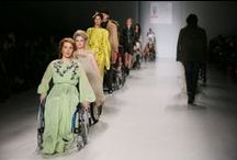 Disabled Models Grace the Runway / Disabled models are not featured very often in the modelling industry however, at New york Fashion Week a couple of months back models in wheelchairs took to the runway; a positive action for those with a disability to witness and relate to.  http://www.ukmodels.co.uk/knowledge/disabled-models-grace-the-runway/
