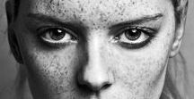 Models with Freckles / Models with freckles may be concerned that opportunities in the industry may be slim. However, the reality is very different with the facial markings to be viewed as a sign of beauty and featuring the freckled faces on the front of fashion and beauty campaigns. http://www.ukmodels.co.uk/knowledge/models-freckles-beautiful/