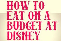Disney Food Tips / how to save time and money on Disney food