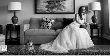 Wedding Portraits / Portraits of bride/groom and their beloved on the wedding day.