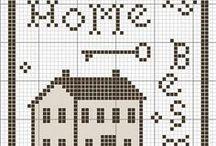 Primitive Cross Stitch Patterns