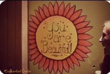 Reflect the Beauty Inside / You are beautiful.
