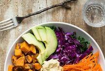Vegan + Vegetarian Recipes / Vegan mains and desserts with Vegetarian mains