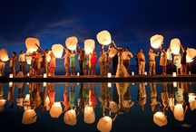 Candles, lantern & cages for wedding
