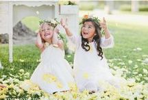 Lovely flower girls & Ring bearers