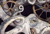 Steaming Steampunk / by Holly Marie