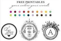 Printable wedding ideas