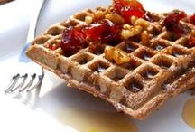 Vegan Pancakes and Waffles / Yummy eggless, dairy-free and wholegrain versions of your breakfast favorites / by Holy Cow! Vegan Recipes
