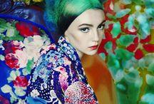 Colour craze - Mood / Bright Colour . Colour Clash . Combination. Colour Block . Patterned . Mix Print . Marbled . / by No21 Prediction
