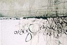 Calligraphy and hand-drawn type / ...or type with personality if you prefer. Gorgeous scribblings.
