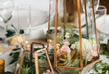 Gold Wedding / Weddings with gold details!