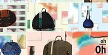 oh-oh...backpack collection!