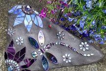 gardening ideas & beautiful yart too