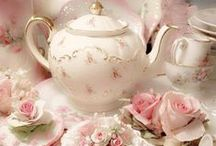 ~ Ꭿ ℛosy ℛomantic Ƭ Є Ꭿ ❤️ / It's afternoon tea time and everything is rosy  ✿⊱❤╮❤╭❤⊰✿✿⊱❤╮❤╭❤⊰✿✿⊱❤╮❤╭❤⊰✿✿⊱❤╮❤╭❤⊰✿✿⊱❤╮❤╭❤⊰✿ / by 🌺🌹💙 .Ɗ.i.α.η.η.e. 💙🌹🌺