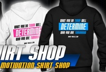 Motivation Gym Shirts / Check out our latest motivational gym shirts at www.about-muscle.com/store.php