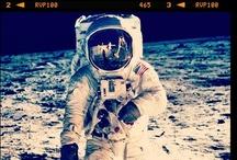 Neil Armstrong  instagramer / La Luna y el Apolo 11, si Neil Armstrong no hubiera olvidado su cámara con  Instagram. http://pijamasurf.com/2012/07/como-se-veria-la-luna-y-el-apolo-11-si-neil-armstrong-hubiera-tenido-instagram-fotos/ / by Fer G Fava