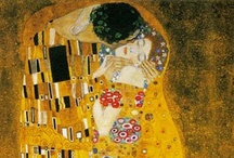 Gustav Klimt / Gustav Klimt was an Austrian symbolist painter and one of the most prominent members of the Vienna Secession movement. Klimt is noted for his paintings, murals, sketches, and other art objects. / by Ellen Taborda