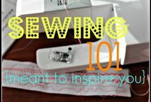 Sew smart! / Sewing and fabric type projects!