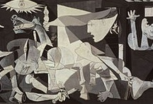 Pablo Picasso / Pablo Ruiz y Picasso, known as Pablo Picasso, was a Spanish painter, sculptor, printmaker, ceramicist, and stage designer who spent most of his adult life in France. / by Ellen Taborda