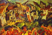 Chaïm Soutine / Chaïm Soutine was a French painter of Russian Jewish origin. Soutine made a major contribution to the expressionist movement while living in Paris.  / by Ellen Taborda