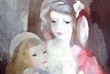 Marie Laurencin / Marie Laurencin was a French painter and printmaker. / by Ellen Taborda