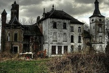 Abandoned Places / Sometimes it sad to see some of the beautiful abandoned places. They don't make homes and buildings the way they used to. / by Cherrie Williams
