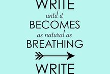 Writing makes me happy! / Journaling, creative writing, and notes about life!