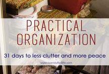 Clean + Organized