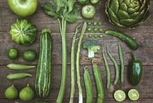 Beautiful Veggies / Who could turn vegetable down when they look this good?