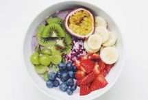 Fresh / Fresh unprocessed wholesome food. Eat a rainbow. / by Melody Arredondo