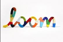 monogramic typography / #type #kerning #monograms / by Kat Randall
