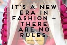 fashion speaks / Fashion Quotes