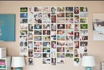Print your pictures! / Inspiration to get your photos off your phone, off your camera and out of your computer - books or displays, your photos were meant to be seen!  :)  <3