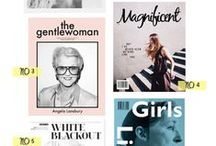 Editorials & Layout / Graphic, Editorial, Colors, Type, Layout