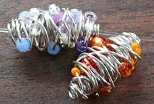 Jewelry Tutorials: Wire / Wire Weaving, Wire Wrapping, Viking Knit, Wire Crochet, Wire Sculpting - if it's about wire, it's here