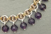 Jewelry Tutorials: Chainmaille / Weaving those jumprings together!