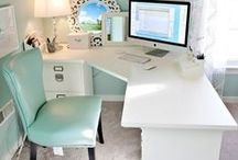 OFFICE INSPIRATION / Inspiration for the perfect home office. Organization and decoration inspiration for working at home.