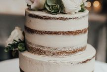 The Cake & Flowers