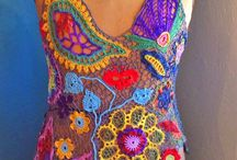 Crochet Festival / Bohemian style crochet clothing-summer tops mostly.A lot of 60's styled stuff. / by Ilene Hertzfeld Jones