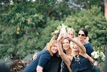 bridal party / by Ashley Kelemen Photography