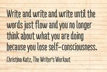 Writing & Creativity Quotes By Prosperous Writer Christina Katz / I love to share my inspirational quotes and I wanted to gather them all up in one place. Thanks for sharing them on social media! #inspiration #writers #creatives #artists #amwriting