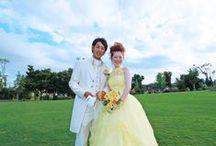 結婚式の前撮り / 海・花・思い出をテーマにさまざまな結婚式の前撮り