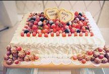 ウェディングケーキ / オリジナルウェディングケーキ 生ケーキ