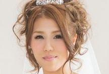 結婚式ヘアアレンジ / ウェディングドレス・和装のヘアスタイル