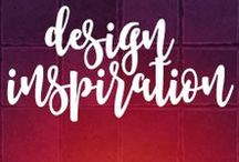 Design Inspiration / Designs and design elements that inspire me, and just might inspire you!