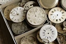 tick tock / i love clocks...from the inside cogs and gears to the hands, the shape...they are just cool!