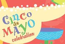 Cinco De Mayo: Fiesta Fiesta! / Get your fiesta on with these inspiring pins to get you ready for Cinco De Mayo!